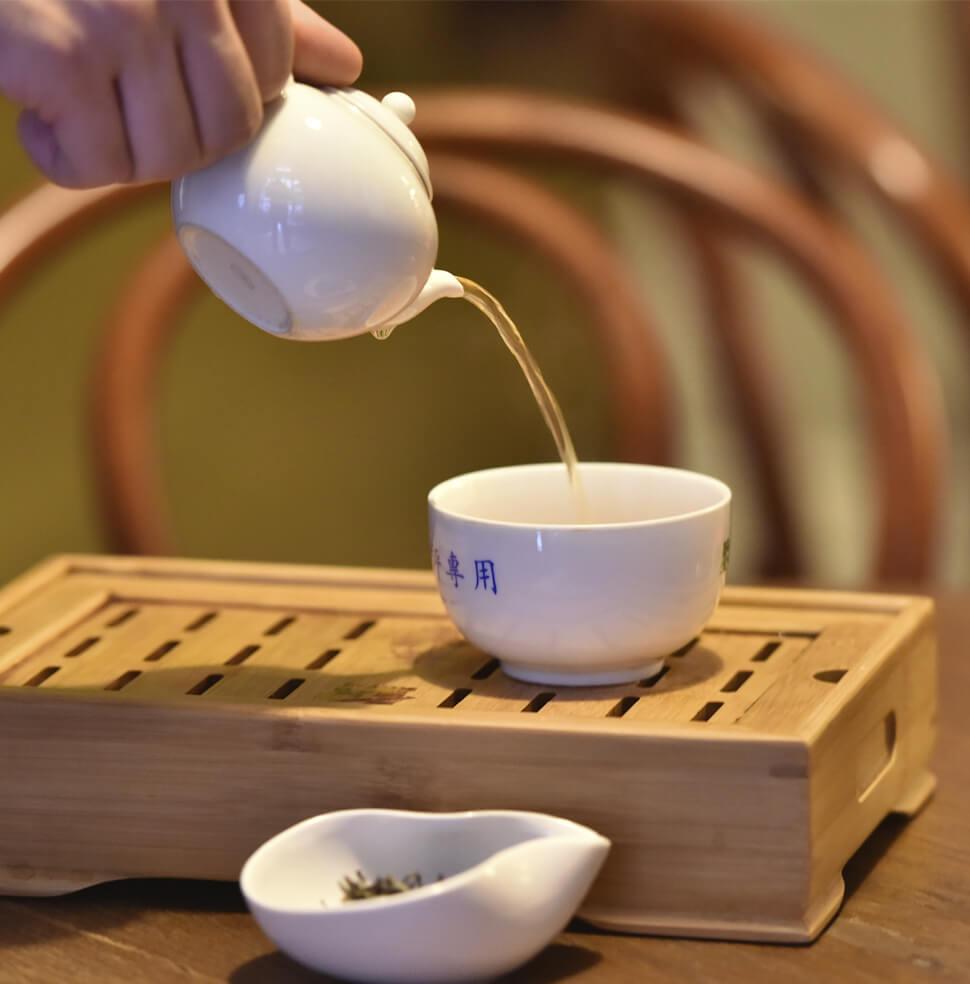Čaj nalievanie
