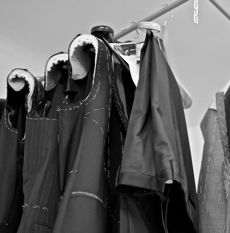 Šitie na mieru - Predvyrobené obleky