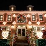 Vianočná výzdoma na domoch - Alain Delon