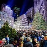 Vianočná atmosféra po celom meste - Alain Delon