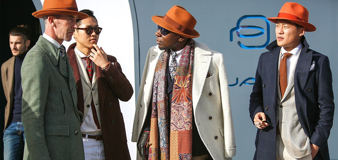 Style guide - Uviažte si šál ako gentleman