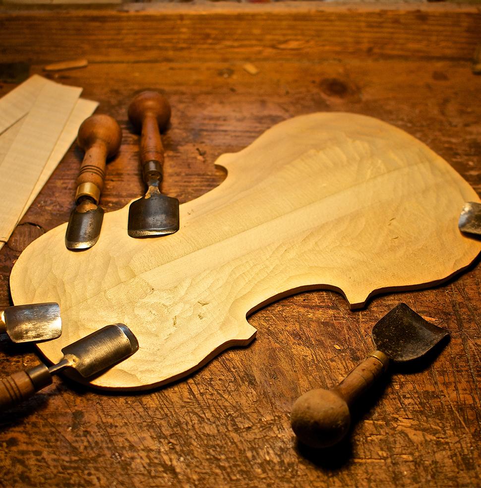 Výroba huslí