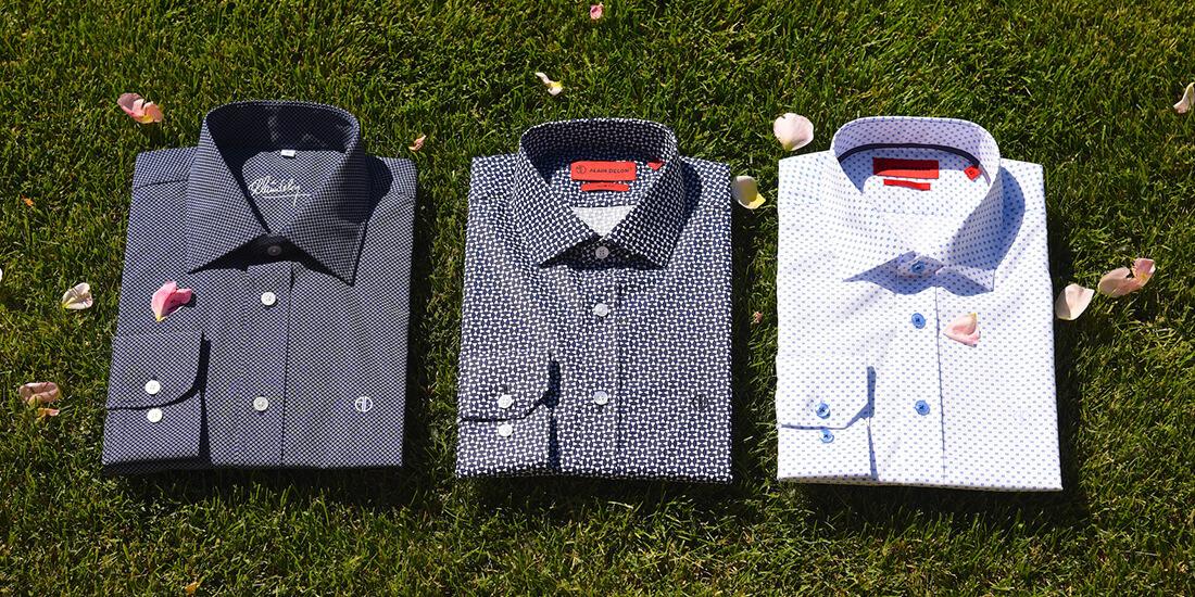 Style guide - vzorované košele