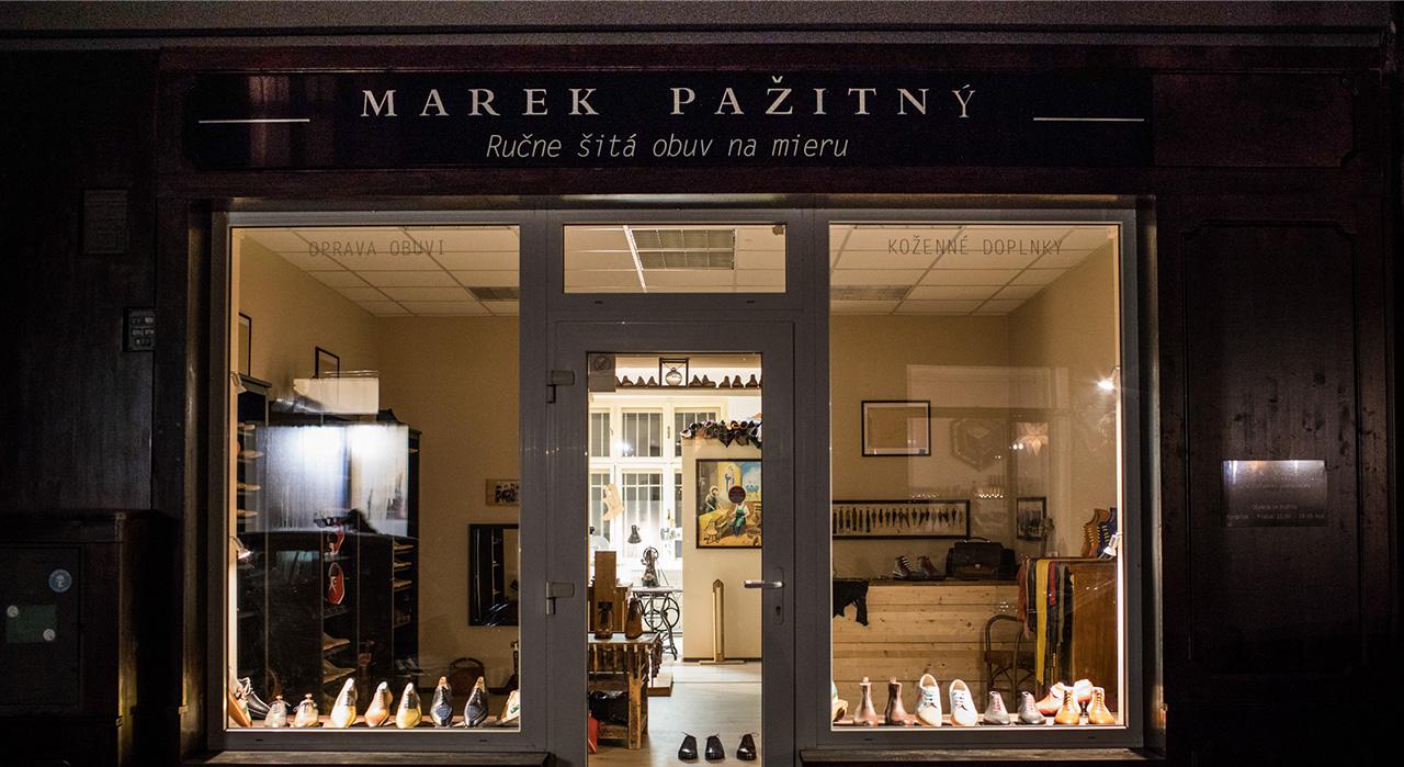 Ručne šitá obuv à la Pažitný