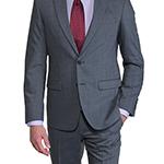 sedy-karovany-slim-fit-oblek