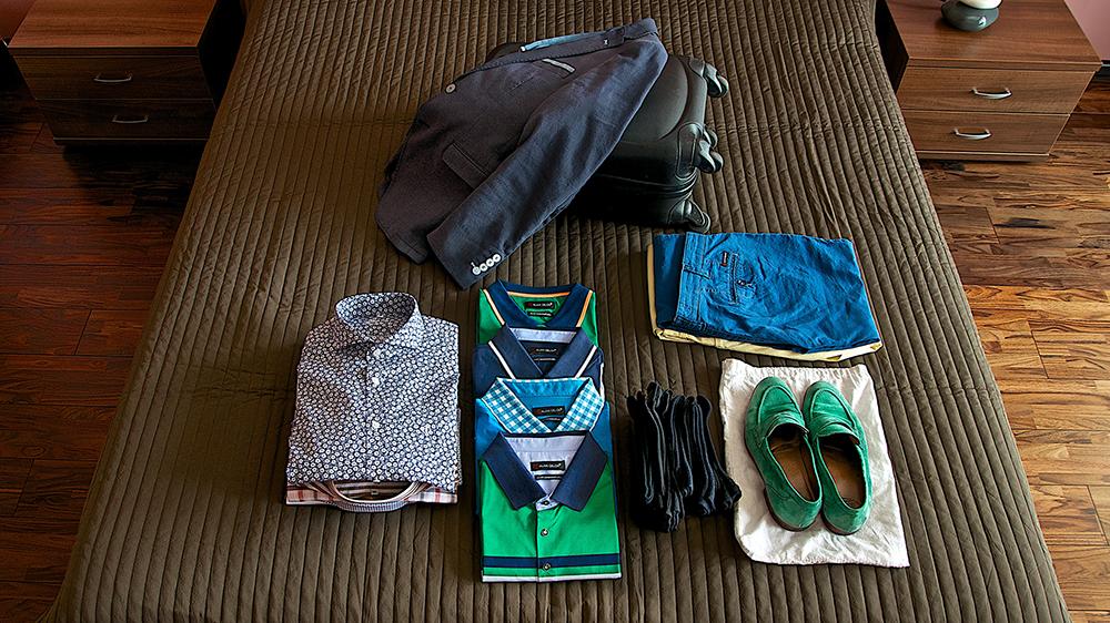 Ako zbaliť oblečenie